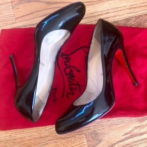 Christian Laboutin Patent Leather Pumps